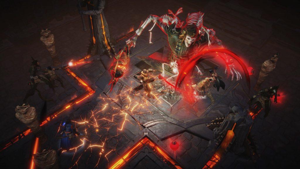 Diablo Immortal boss fight