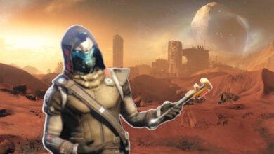 Debido a que Marte desaparece en Destiny 2, los jugadores pueden construirlo ellos mismos en 200 horas