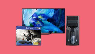 Folleto de cupones de Saturno: oferta de PC para juegos Ryzen, televisores 4K y PS4