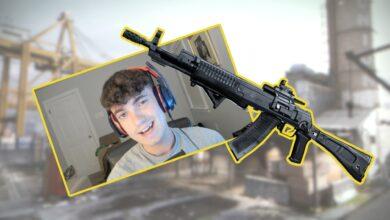 CoD MW: el profesional del rifle de asalto muestra su configuración para el nuevo AN-94 de la temporada 5