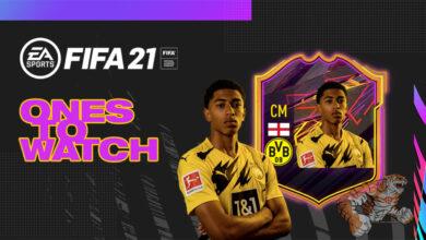 FIFA 21: OTW Jude Bellingham - Se revela la tarjeta Second Ones To Watch