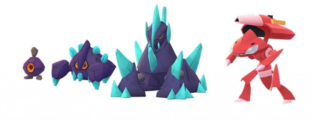 Shinys Pokemon GO Genesect Kiesling
