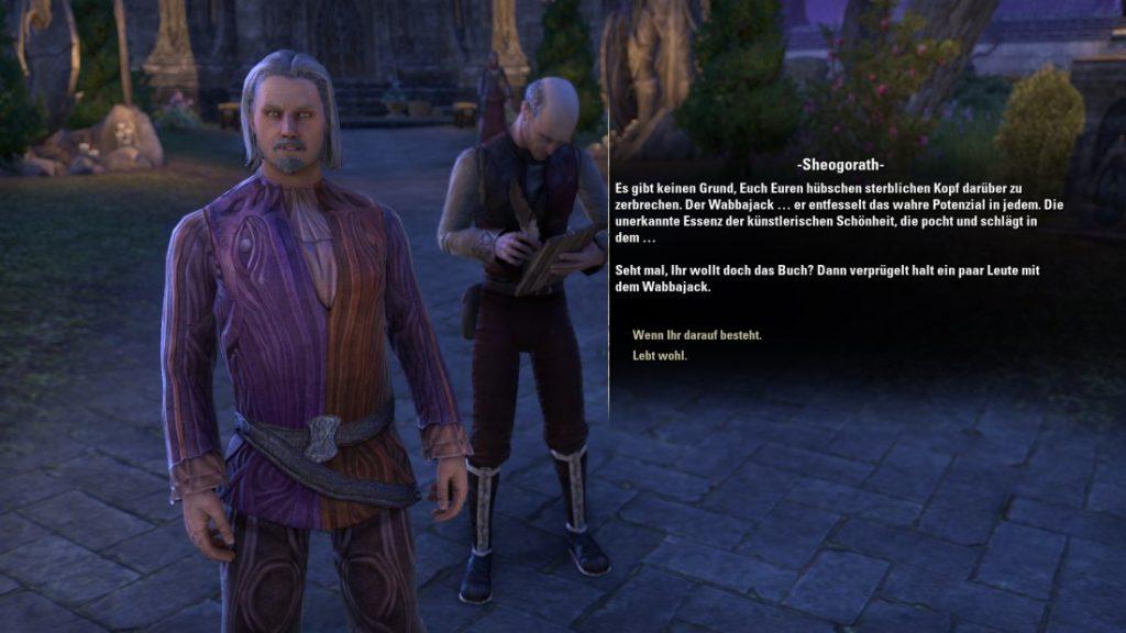 The Elder Scrolls Online: Sheogorath Quest