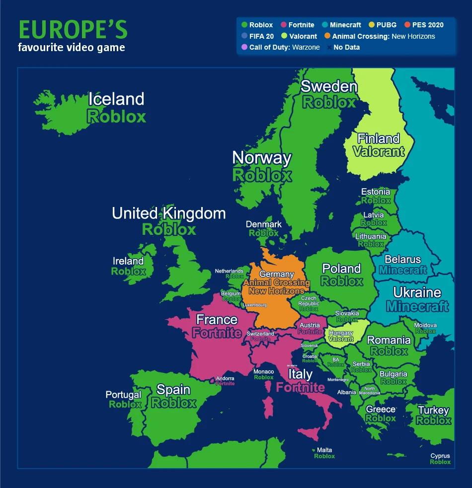 Juegos más populares Corona Europe