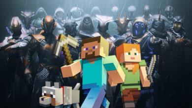 Los jugadores de Minecraft entran en Destiny 2: reconstruye ubicaciones, exóticos y jefes de incursión