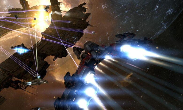 Im Weltraum-MMORPG Eve Online tobt gerade ein Krieg, der schon 112.000$ verschlang