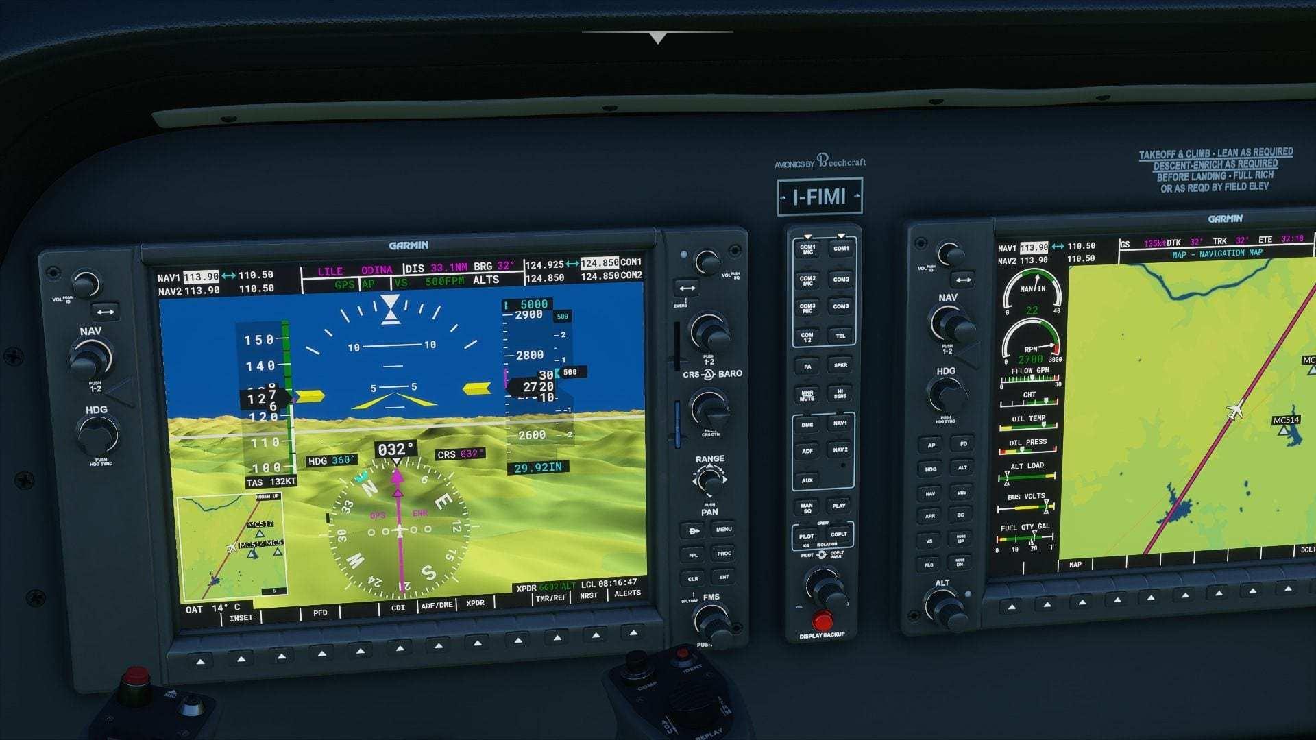 cómo usar el piloto automático en microsoft flight simulator