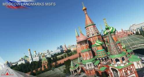 Microsoft Flight Simulator Moscú