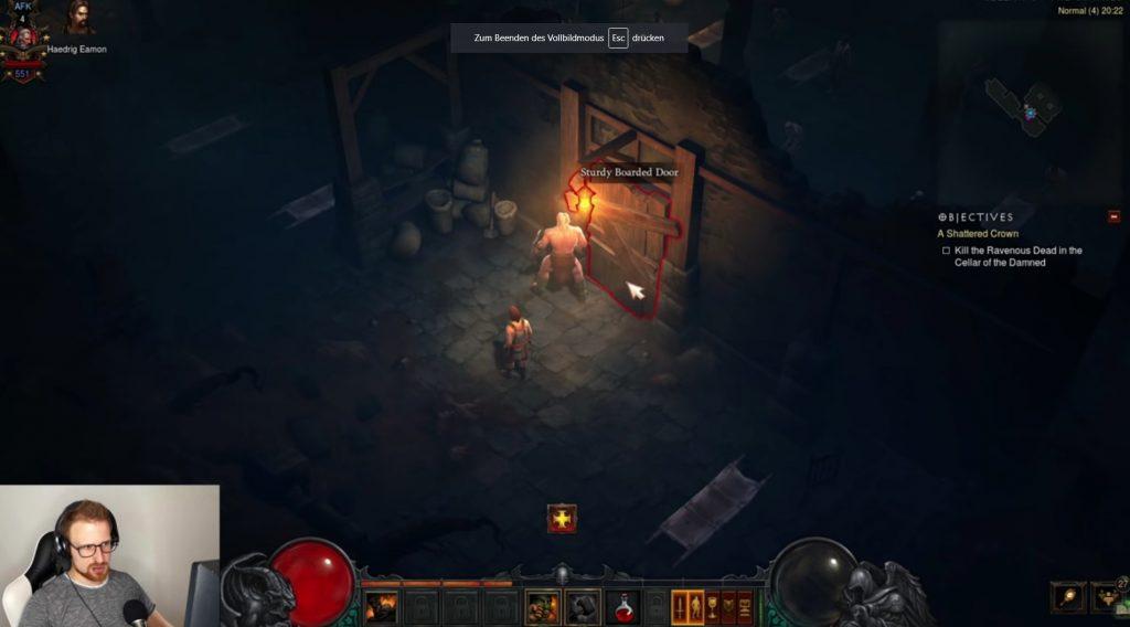 Diablo 3 Chitor Puerta AFK