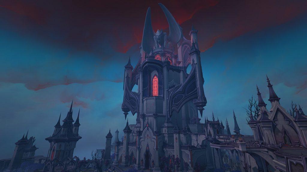 Castillo de WoW Shadowlands NAthria