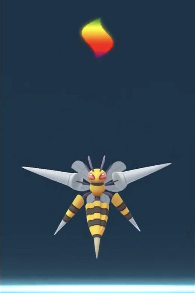 Evolución de Pokémon GO Mega Bibor