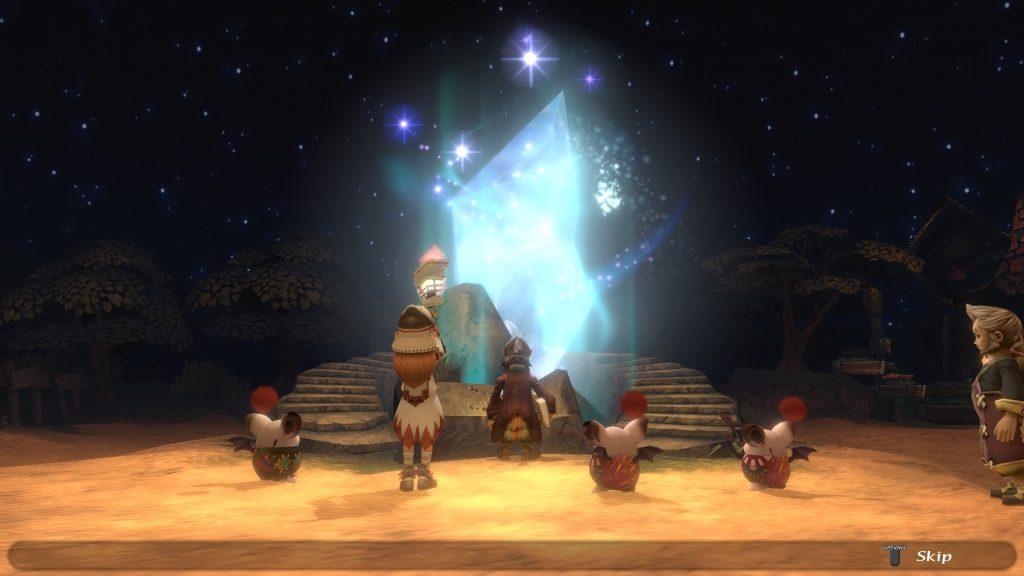 celebración de la aldea de las crónicas de cristal