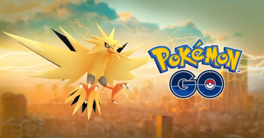 Pokémon GO Zapdos Título 3