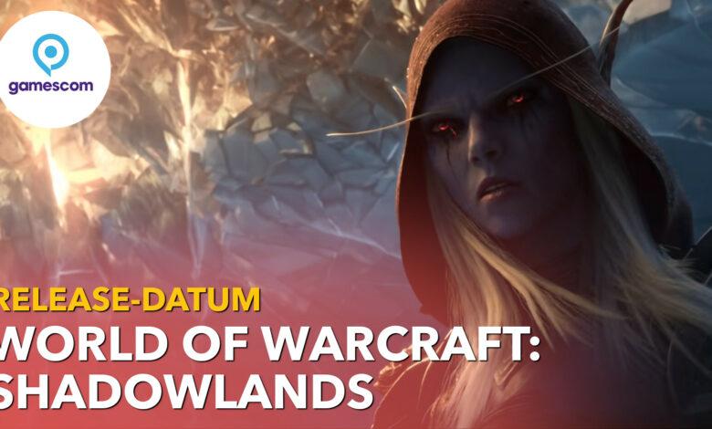 WoW Shadowlands tiene fecha de lanzamiento: comienza en octubre