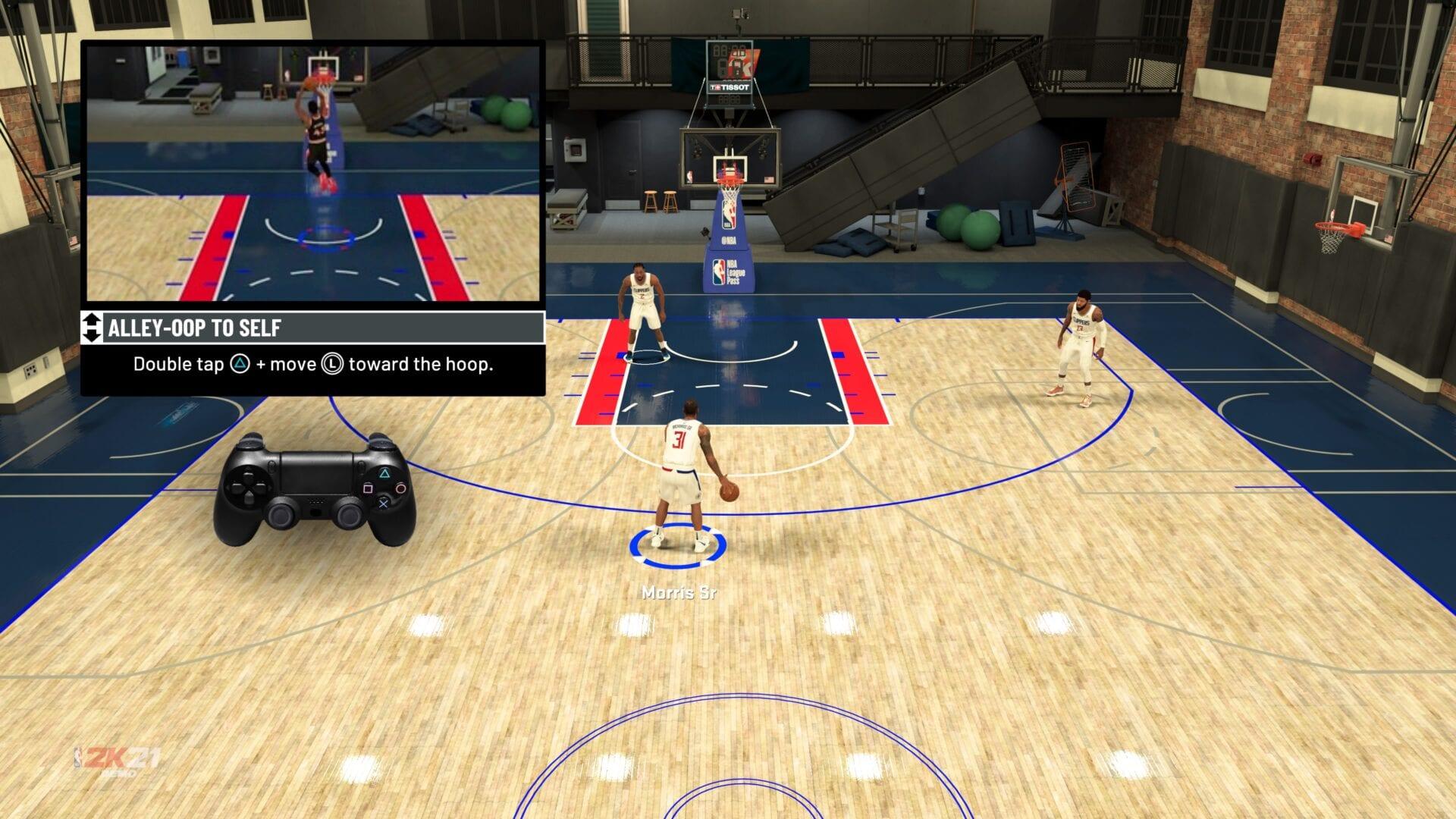 NBA 2K21 callejón oop