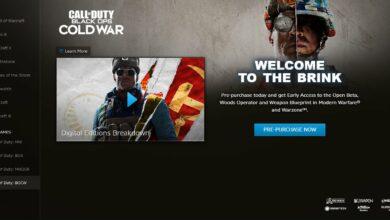 Photo of Call of Duty (COD) Black Ops Cold War (BOCW) – Tamaño de descarga