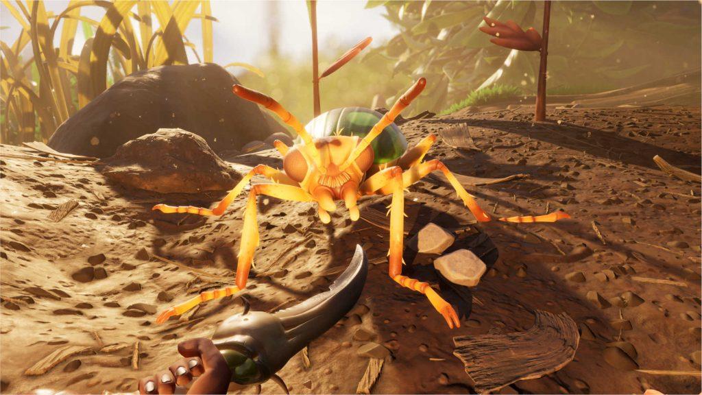 Escarabajo desagradable con conexión a tierra
