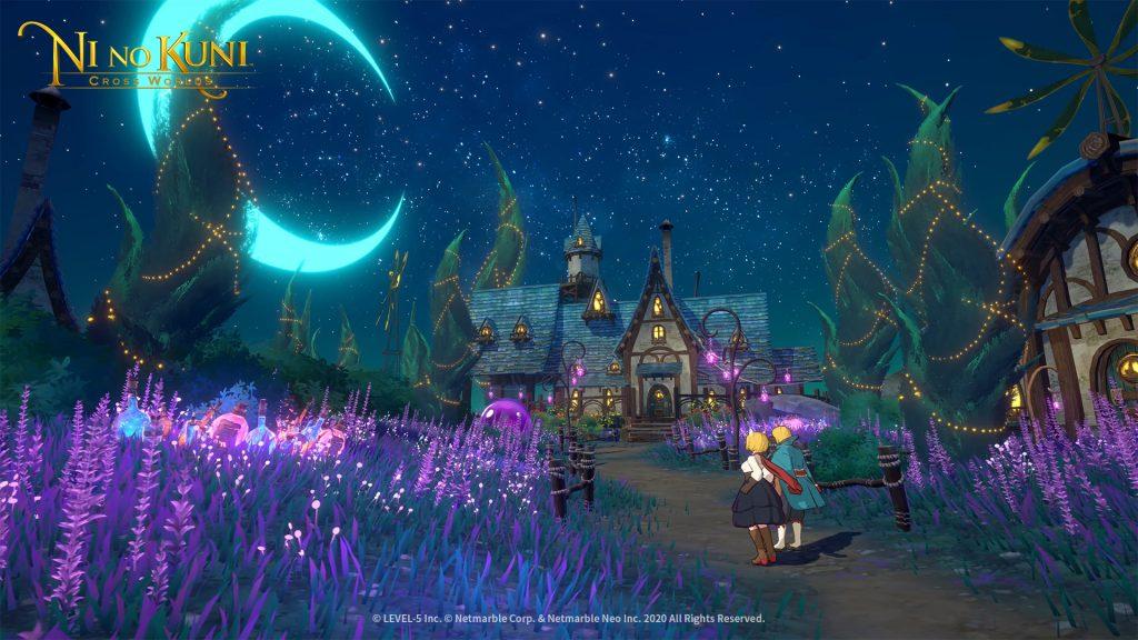 Captura de pantalla de Ni No Kuni Cross Worlds