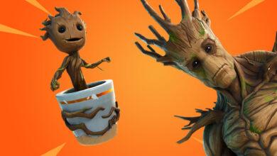 Así es como puedes encontrar a Groot en Fortnite para desbloquear la recompensa