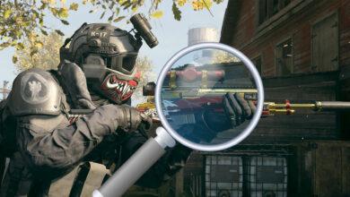 CoD MW y Warzone: ahora puedes admirar lo elegantes que son tus armas
