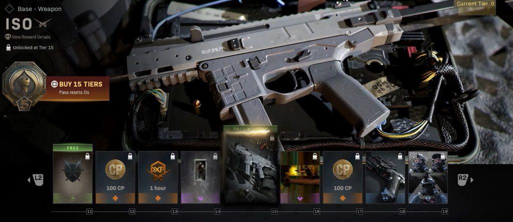 CoD MW Warzone Season 5 Battle Pass Iso