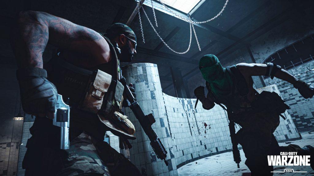 Call fo Duty Modern Warfare Warzone Gulag