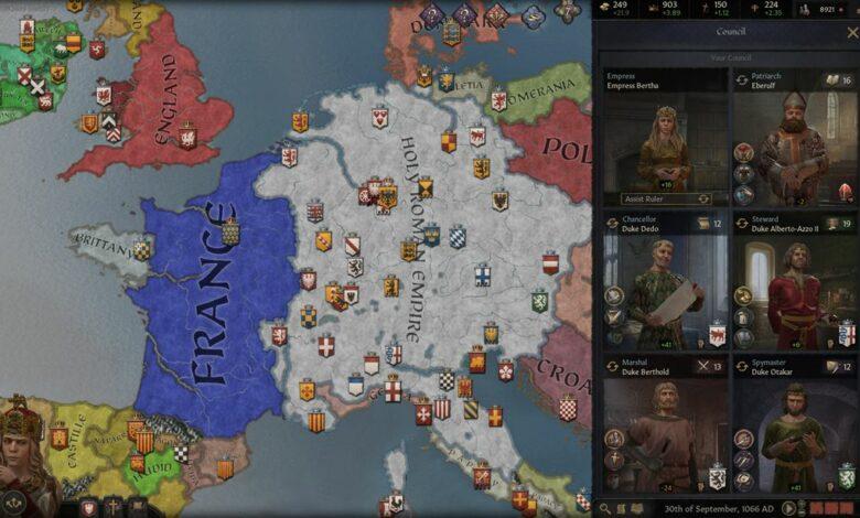Crusader Kings 3 - Corrección de retraso, tartamudeo y bloqueos