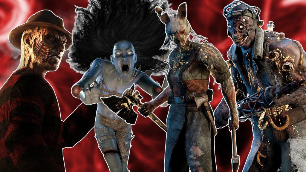 Dead by Daylight Killers Título de la lista de niveles 1280x720