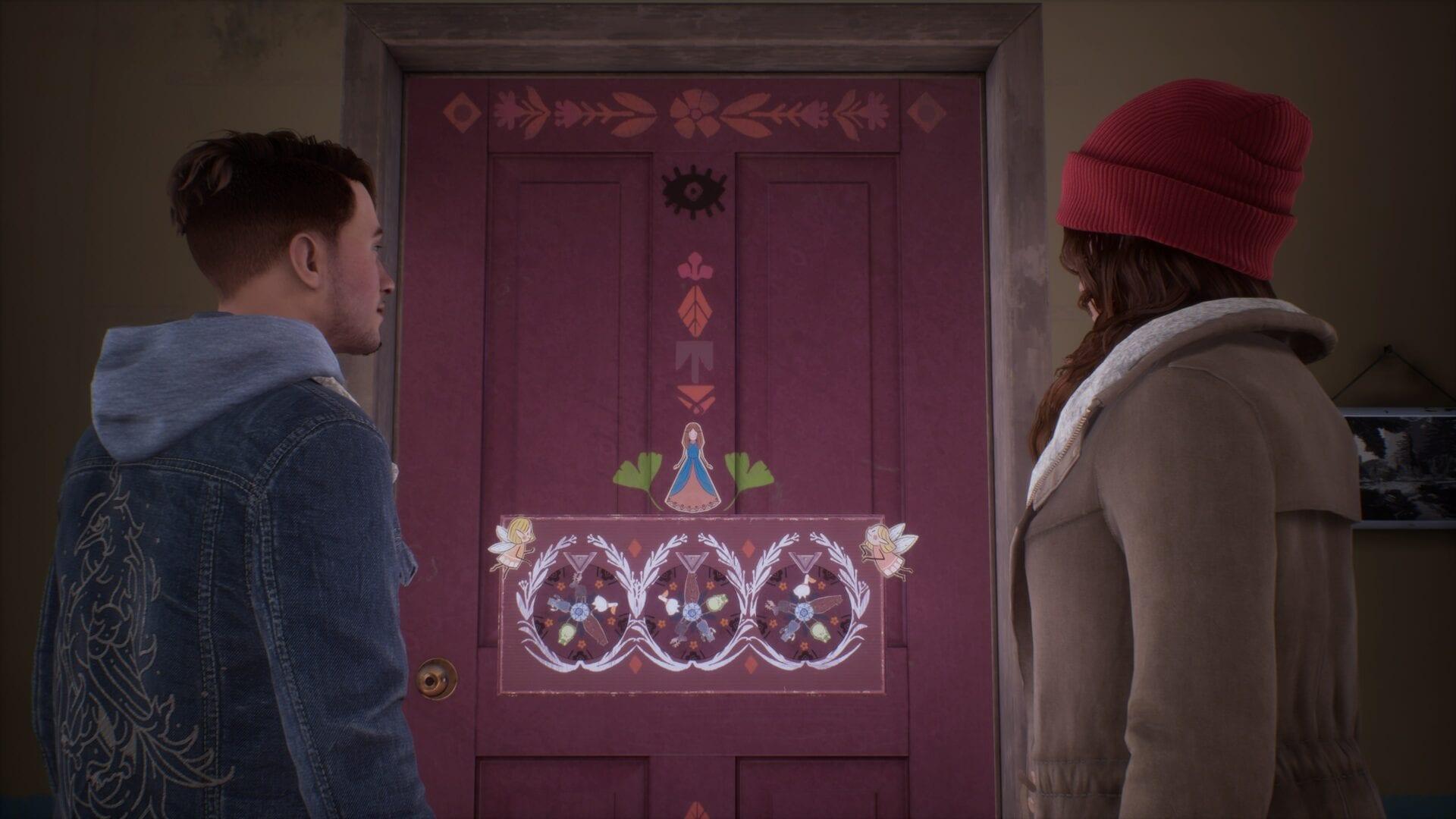 Dime por qué rompecabezas de la puerta del dormitorio Mary-Ann