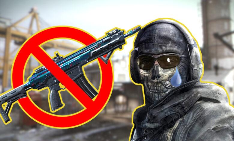 El jugador trabajó durante cientos de horas en CoD MW y Warzone por la piel, no puedo conseguirlo