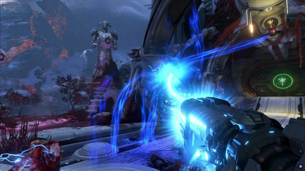 gamescom doom dioses antiguos absorber