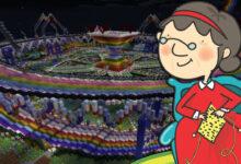 """Photo of Esta """"abuela de Minecraft"""" muestra el mundo en el que ha construido durante 6 años"""