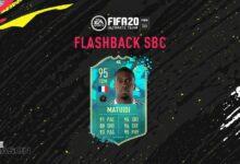 FIFA 20: SBC Blaise Matuidi Flashback Pretemporada