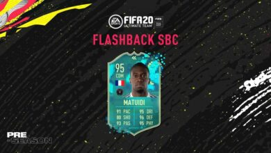 Photo of FIFA 20: SBC Blaise Matuidi Flashback Pretemporada