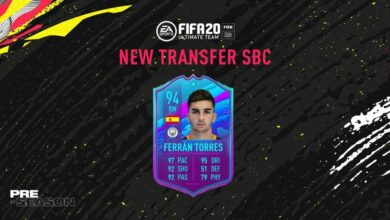Photo of FIFA 20: SBC Ferran Torres – Pretemporada