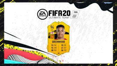 FIFA 20: SBC Mason Greenwood Camino a la final