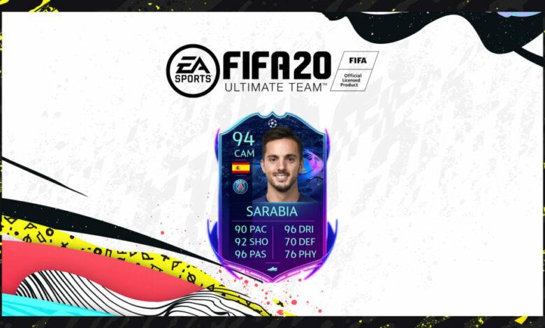 FIFA 20: SBC Pablo Sarabia Camino a la final