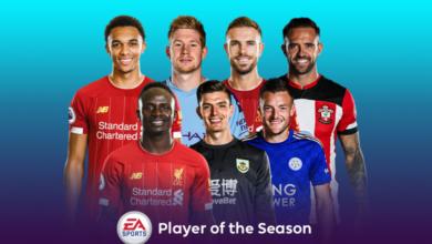 FIFA 20: nominaciones de la Premier League