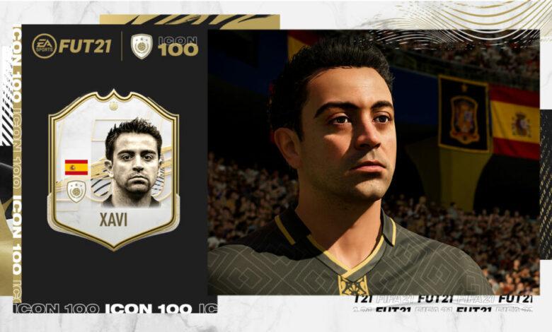 FIFA 21: Xavi Icon - Desvelada la tercera leyenda inédita