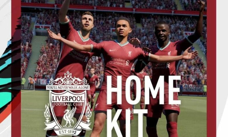 FIFA 21: kit Liverpool revelado para la temporada 2020/21