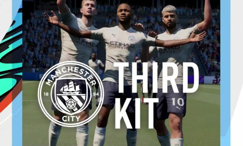 FIFA 21: la tercera equipación del Manchester City para la temporada 2020/21 estará disponible en el juego