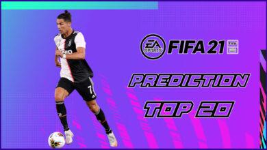 FIFA 21: probablemente el TOP 20 de la Serie A