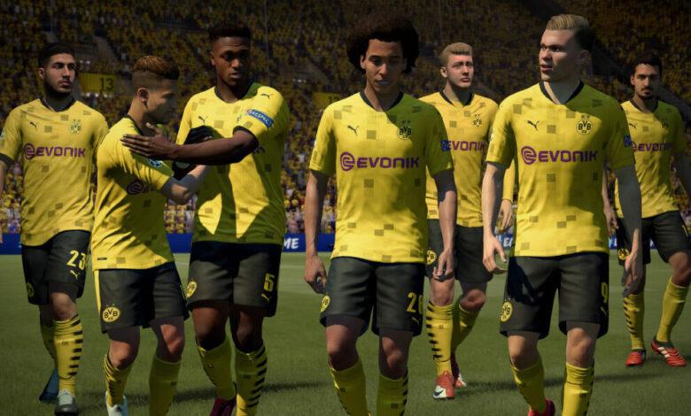 FIFA 21: se ha presentado la equipación del Borussia Dortmund para la temporada 2020/21