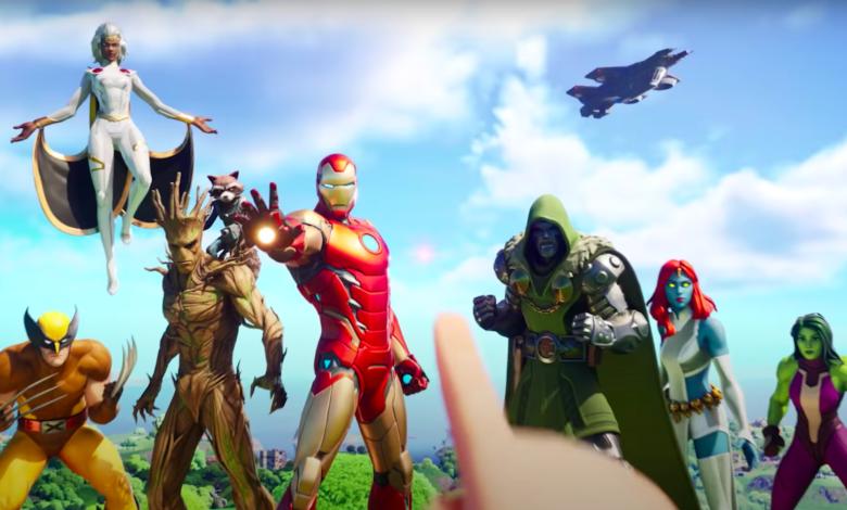 Fortnite Season 4: Trailer muestra superhéroes de Marvel, caos y villanos malvados