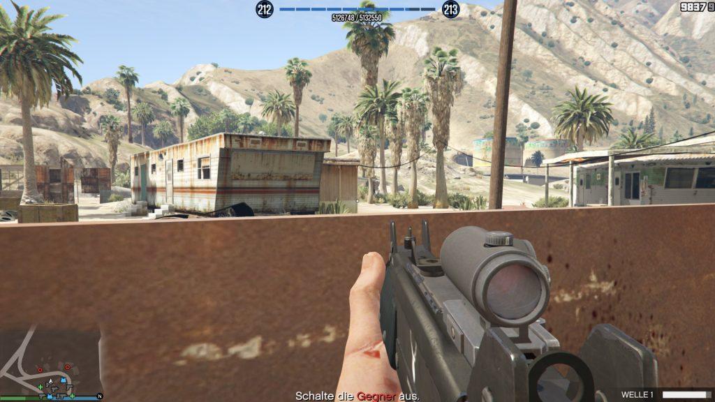 Cobertura de GTA Online Slab City