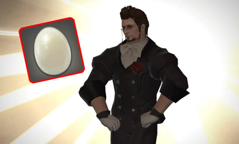 Hero come 999 huevos en el MMORPG Final Fantasy XIV, es celebrado por multitudes furiosas