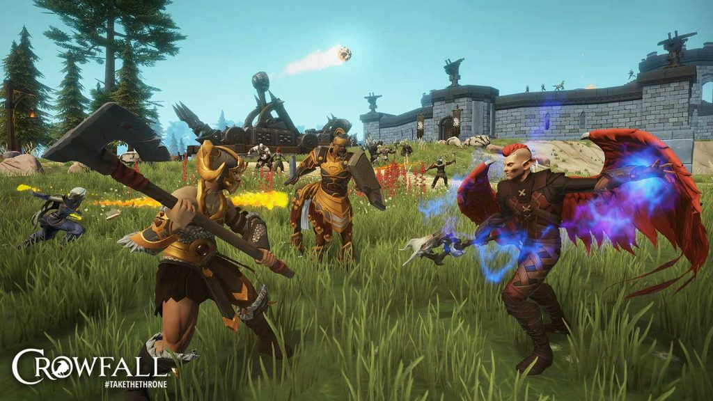 Crowfall The Fortunes of War Siege