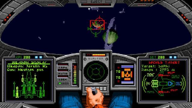 simulación de comandante de ala