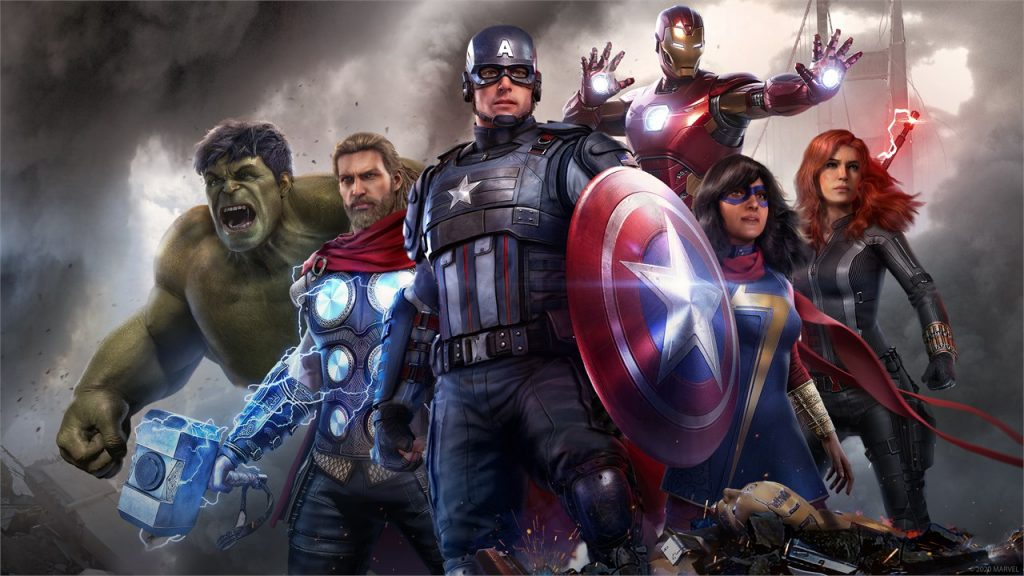 Héroes de los Vengadores de Marvel