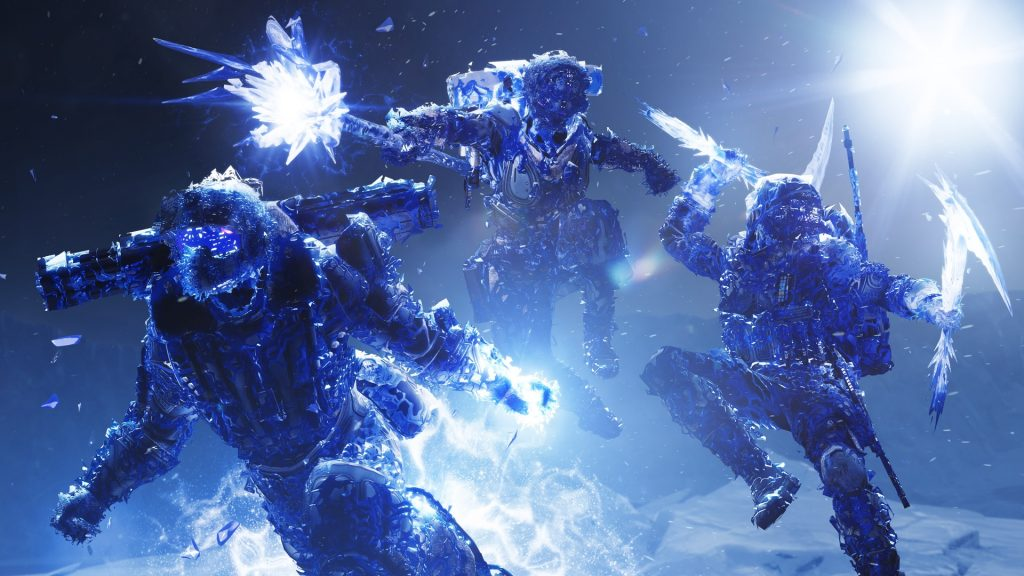 Stasis Ice Dark Classes Elemento Destiny 2 Título